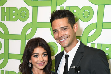 Sarah Hyland Wells Adams HBO's Official Golden Globe Awards After Party - Red Carpet
