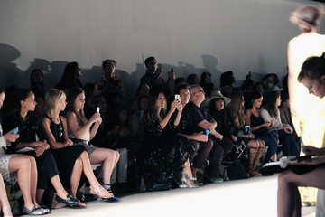 Sarah Jessica Parker Tracy Reese - Front Row - Spring 2016 New York Fashion Week