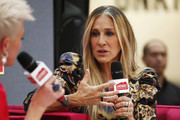 Sarah Jessica Parker attends Highpoint Shopping Centre on October 23, 2019 in Melbourne, Australia.