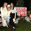 Sarah Levy Best Buds Holiday Party With Kacey Musgraves And Flower By Edie Parker Flower