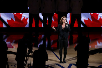 Sarah Mclachlan 2019 NBA Finals - Game Six