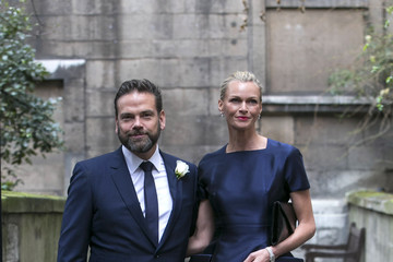 Sarah Murdoch Jerry Hall Marries Media Mogul Rupert At St Brides Church