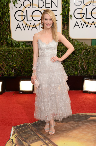 Sarah Paulson - 71st Annual Golden Globe Awards - Arrivals