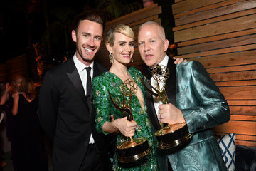 Sarah Paulson Ryan Murphy FOX Broadcasting Company, FX, National Geographic And Twentieth Century Fox Television's 68th Primetime Emmy Awards After Party - Inside