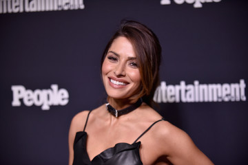 Sarah Shahi Entertainment Weekly and PEOPLE Upfronts Party at Second Floor in NYC Presented By Netflix and Terra Chips - Arrivals