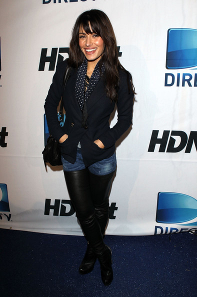 Sarah Shahi Pictures Directv And Mark Cuban 39 S Hdnet