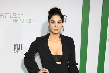 Sarah Silverman FIJI Water at the 'Battle of the Sexes' Los Angeles Premiere