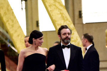 Sarah Silverman Michael Sheen 88th Annual Academy Awards - Post Show Departures