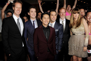 """Sarah Wright Jon Lucas Premiere Of Relativity Media's """"21 And Over"""" - Red Carpet"""