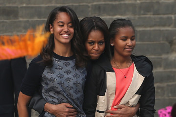 Sasha Obama Michelle Obama Travels to China: Day 5