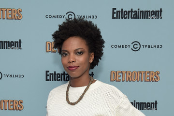 Sasheer Zamata Comedy Central & Entertainment Weekly Host An Exclusive Screening Of 'Detroiters' Starring Sam Richardson And Tim Robinson At Time Inc. Studios In NYC