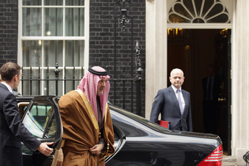 Saud Al-Faisal Ministers And Officials Arrive At Downing Street For The Cabinet Meeting