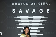Chanel Iman attends Savage X Fenty Show Presented By Amazon Prime Video - Arrivals at Barclays Center on September 10, 2019 in Brooklyn, New York.