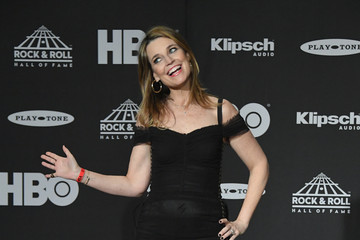 Savannah Guthrie 33rd Annual Rock & Roll Hall Of Fame Induction Ceremony - Press Room