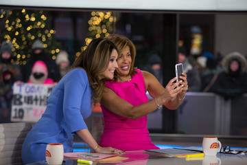 Savannah Guthrie NBC's 'Today' With guests Hoda Kotb, Start Today, and Bob Harper