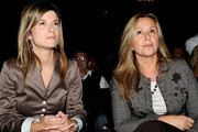 """Spanish Minister Trinidad Jimenez (R) and Bibiana Aido (L) attend  """"Save the Children"""" ceremony awards at Círculo de Bellas Artes on September 30, 2009 in Madrid, Spain."""