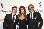 (L-R) Brian Perri, Elisabetta Canalis and Giovanni Pellerito attend Save The Children's Centennial Celebration: Once in a Lifetime at The Beverly Hilton Hotel on October 02, 2019 in Beverly Hills, California.