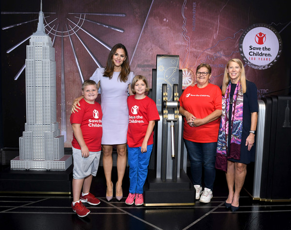 Save the Children Lighting Of The Empire State Building