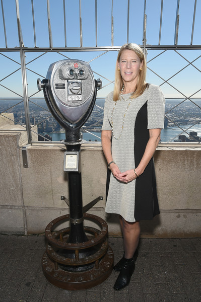 Carolyn Miles in Save the Children Lights Up Empire State ...