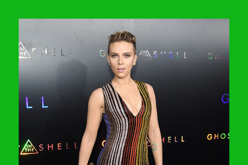 """Scarlett Johansson Paramount Pictures & DreamWorks Pictures Host The Premiere Of """"Ghost In The Shell"""" - Arrivals"""
