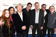 Jeff Ross, Bob Saget, Jackson Browne and guests attend Scleroderma Research Foundation's Cool Comedy - Hot Cuisine New York 2018 at Caroline's on Broadway on December 11, 2018 in New York City.