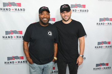 Scooter Braun Hand in Hand: A Benefit for Hurricane Relief - Los Angeles - Press Room