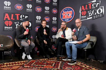 Scott Devendorf iHeartRadio ALTer Ego 2018 - Backstage