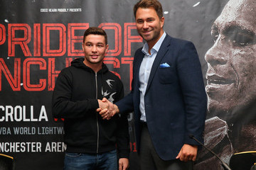 Scott Fitzgerald Anthony Crolla Press Conference
