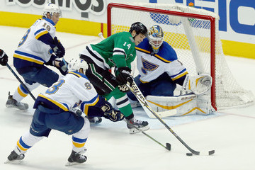 Scott Gomez St Louis Blues v Dallas Stars