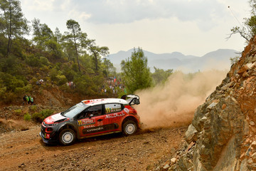 Scott Martin FIA World Rally Championship Turkey - Shakedown