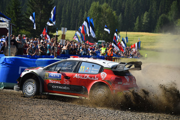Scott Martin FIA World Rally Championship Finland - Day Three