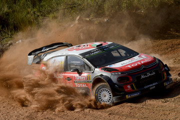 Scott Martin FIA World Rally Championship Turkey - Day One