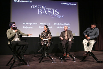 Scott Miller Justin Baldoni And Ai-Jen Poo Speak On Caregiving And Masculinity At 'On The Basis Of Sex' Screening