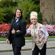 Scott Mitchell Scott Mitchell And Dame Barbara Windsor, Alzheimer's Society Letter Hand In