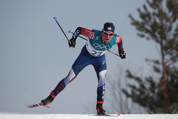 Scott Patterson Cross-Country Skiing - Winter Olympics Day 7
