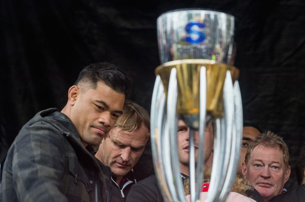 Crusaders Super Rugby Final Reception