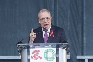 Scott Stringer World AIDS Day 2016 at the New York City AIDS Memorial