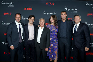 Scott Stuber Noah Baumbach 'The Meyerowitz Stories' (New and Selected) Special Screening in Los Angeles, CA