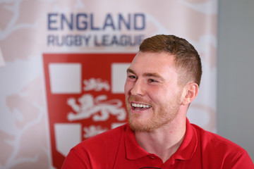Scott Taylor England Rugby League Media Day