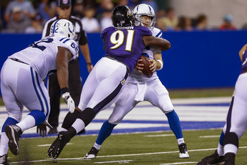 Scott Tolzien Baltimore Ravens v Indianapolis Colts