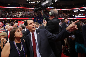 Scott Walker Republican National Convention: Day Four