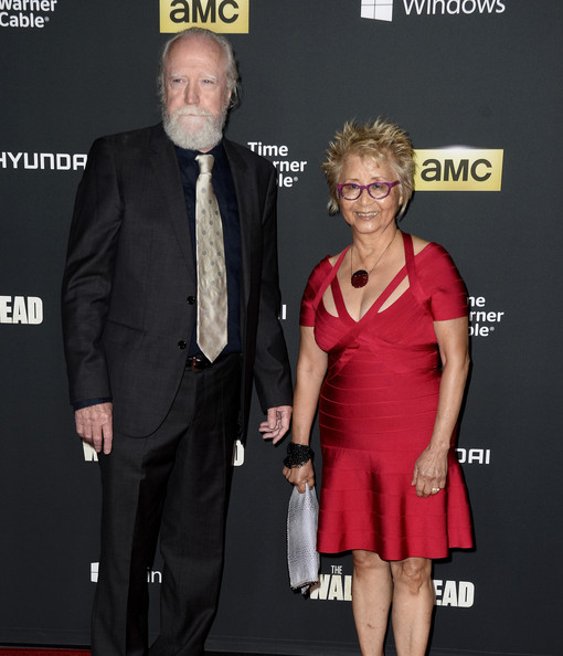 Scott Wilson with cool, beautiful, Wife Heavenly Koh Wilson
