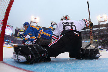 Scottie Upshall 2017 Bridgestone NHL Winter Classic - Chicago Blackhawks v St Louis Blues