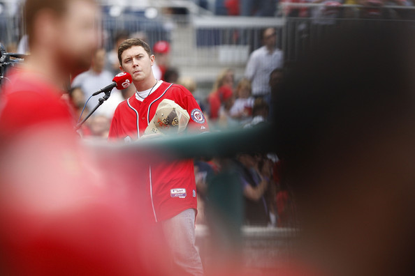 Scotty McCreery - Miami Marlins v Washington Nationals - Game One