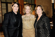 (L-R) Honoree Megan Ellison, SAG Foundation President JoBeth Williams and SAG Foundation Executive Director Cyd Wilson attend the Screen Actors Guild Foundation 30th Anniversary Celebration after party at Wallis Annenberg Center for the Performing Arts on November 5, 2015 in Beverly Hills, California.