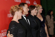 (L-R) Actress Virginia Madsen, honoree David O. Russell, honoree Megan Ellison and actress Elisabeth Rohm attend the Screen Actors Guild Foundation 30th Anniversary Celebration at Wallis Annenberg Center for the Performing Arts on November 5, 2015 in Beverly Hills, California.