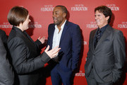 (L-R) Honorees Megan Ellison, Lee Daniels and Rob Marshall attend the Screen Actors Guild Foundation 30th Anniversary Celebration at Wallis Annenberg Center for the Performing Arts on November 5, 2015 in Beverly Hills, California.