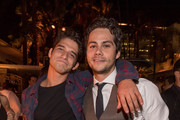 """Actors Tyler Posey and Dylan O'Brien during the after party for CBS Films And Lionsgate's """"American Assassin"""" on September 12, 2017 in Hollywood, California."""