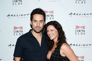 "Actors Ed Weeks (L) and Jennifer LaFleur attend the screening of Caterpillar Event Productions' ""Mad"" at ArcLight Hollywood on August 14, 2016 in Hollywood, California."