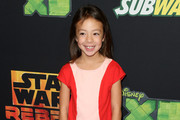 """Actress Aubrey Anderson-Emmons attends the Screening of Disney XD's """"Star Wars Rebels: Spark of Rebellion"""" at the AMC Century City 15 theater on September 27, 2014 in Century City, California."""